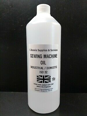 1 Ltr Millers INDUSTRIAL GRADE SEWING MACHINE AND OVER LOCKER OIL