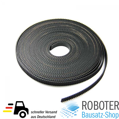 1 Meter GT2 Zahnriemen offen Open Timing Belt 6mm 3D Drucker CNC Maschine RepRap