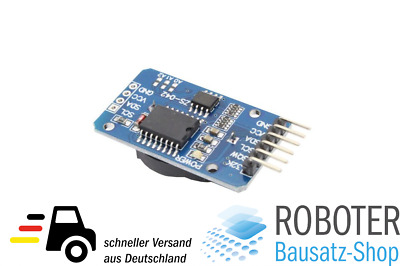 RTC DS3231  Echtzeituhr Real Time Clock Modul - AT24C32 IIC Arduino AVR ARM PIC