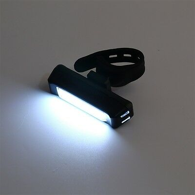 100LM LED USB Rechargeable Head Light Flash Bicycle Bike Tail Safety Lamp GT