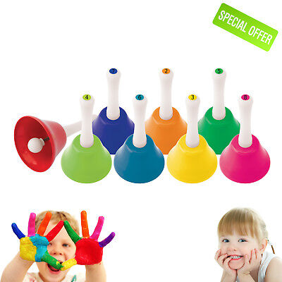 Autism Special Sensory Educational Sound Toy Needs Pack of 8 Music Bells