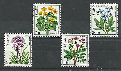 Iceland 567-570 (1983) MNH/OGnh XF/S to S {Set of 4}