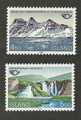 Iceland 571-572 (1983) MNH/OGnh XF/S to S {Set of 2}