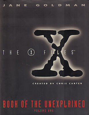 X-FILES (BOOK OF THE UNEXPLAINED VOLUME ONE + TWO) - Jane Goldman