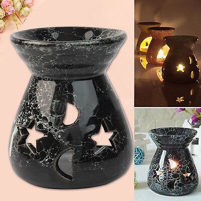 Ceramic Fragrance Oil Burner For Lavender Aromatherapy Scent Candle Melt