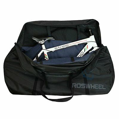 Folding Travel Mountain Road Whole Bike Bicycle Frame Bag Transport Carrier DG