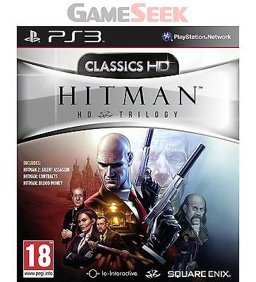Hitman Hd Trilogy - Playstation Ps3 Brand New Free Delivery