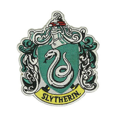 Slytherin Harry Potter Hogwarts Patch High Quality Iron/sew On Free Shippig