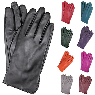 DENTS Women's Classic Leather Gloves Winter Warm Soft New 77-0003 Smooth Grain