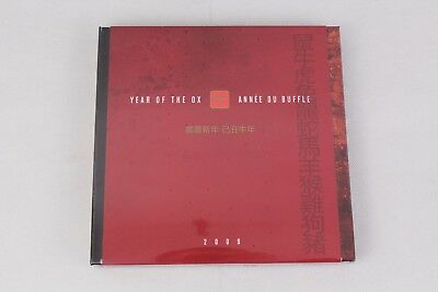 2009 RCM / Canada Post $15 Silver Coin & Stamp Set: Year of the Ox - Sealed