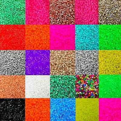 1000 pcs 5mm EVA Hama Perler Beads For Child Gift Great Kid Fun Educational Toys