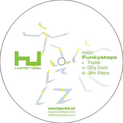 Funkystepz - Trouble EP