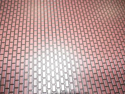 LEMAX LANDSCAPE ACCENT BRICK PAVERS  12 X 18 in. O SCALE - FREE SHIPPING