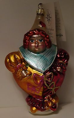 Christopher Radko Dear to my Heart 1999 Pediatric Cancer Charity Ornament NWT