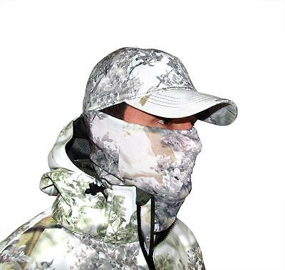 King's Camo Head and Neck Hood Gaiter Snow Shadow Hunting Mask KCG1705-SS