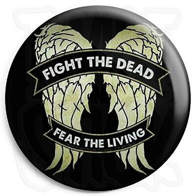 The Walking Dead - Fight the Dead - 25mm TV Button Badge, Fridge Magnet Option