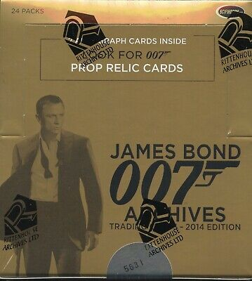 James Bond Archives 2014 Edition Card Box