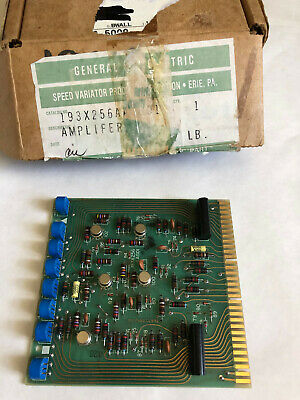 New General Electric 193X-256Aag01 Amplifier Card Ge 193X-256Aagoi ,boxzi