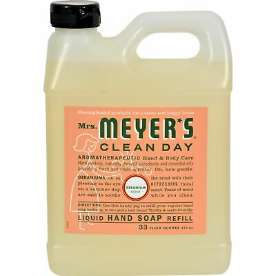 Mrs. Meyer'S Liquid Hand Soap Refill - Geranium - 33 Lf Oz