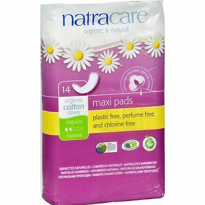 Natracare Natural Regular Pads - 14 Pack 3 Pack