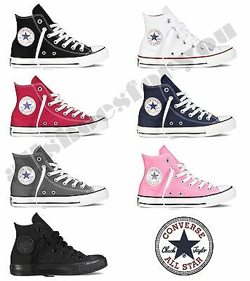 Converse All Star Chuck Taylor Canvas Shoes Hi Top All Sizes