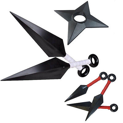 Cosplay Naruto shippuden shuriken Kunai Knives Tools weapons set