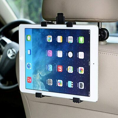 """Adjustable Universal In Car Headrest Seat Holder For Any iPad Tab 7"""" To 11"""""""