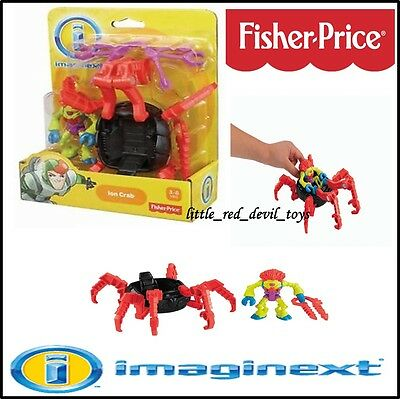 NEW Imaginext Space Ion Crab Vehicle & Figure Fisher Price Toys