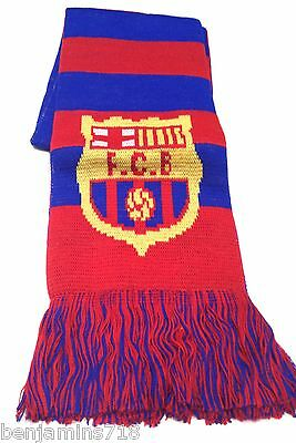 Real Madrid Scarf Winter New Colors Blue and Yellow New season FCB Barcelona