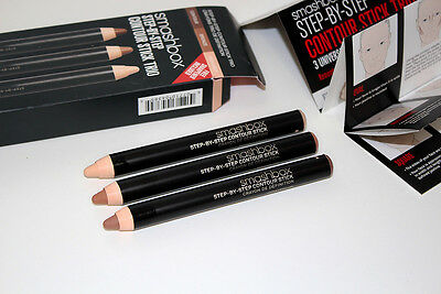 New Smashbox Step By Step Contour Stick Trio