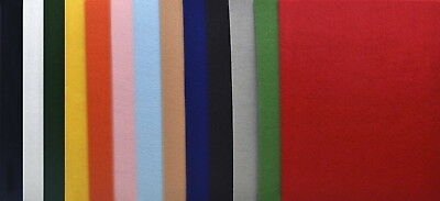 CPE EZ Solid Stiffened Felt, 9 x 12 Inches, Assorted Color, Pack of 25