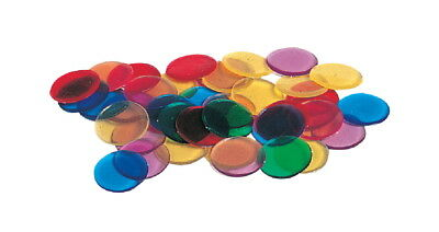 Learning Resources Transparent Counters, Set of 250