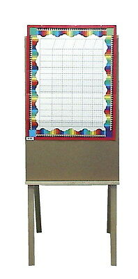 American Easel Teachers Instructional Easel, 57-1/4 in H, Hard Wood