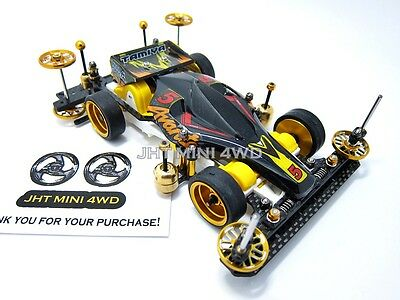 Expert Tuned-Up Tamiya Mini 4WD 95060 VS Chassis with 2015 J-Cup motor