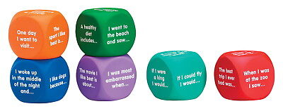 Learning Resources Writing Prompt Cubes, Set of 6