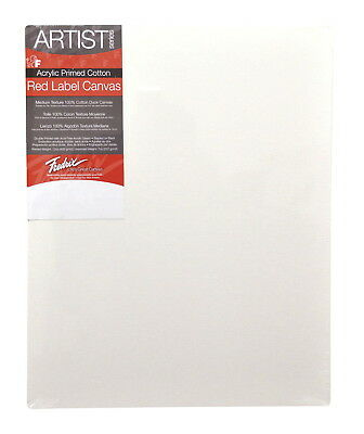 Fredrix Artist Series Stretched Canvas, 30 x 40 in, White