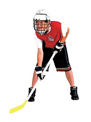 Mylec Junior Hockey Helmet with Wire Face Guard, Ages 5 to 13, White