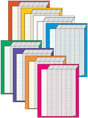 Trend Enterprises Vertical Incentive Chart Variety Pack