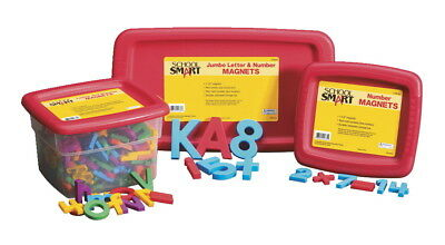 Educational Insights Uppercase Magnetic Letters, 1-1/2 Inches, Multicolors, Set