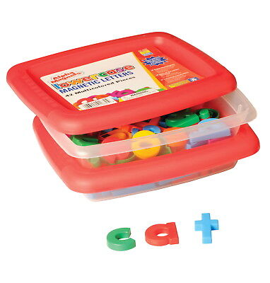 Educational Insights Lowercase Magnetic Letters, 1-1/2 Inches, Multicolors, Set