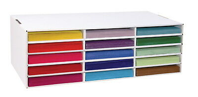 Classroom Keepers Construction Paper Storage, 15 Slot