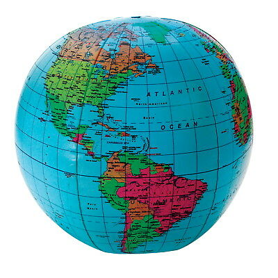 Learning Resources Inflatable Globe, 12 Inches