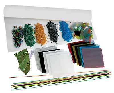 Sax Glass Microwave Fusing Set, 1 X 2 in, Assorted Color