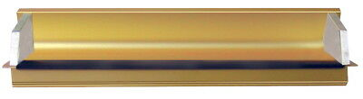 AWT Anodized Aluminum 10 in Emulsion Coater, 9 in Covering Area, Gold