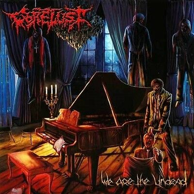 "Gorelust ""We Are The Undead"" CD [Legendary Canadian Horror Gore Death Metal]"