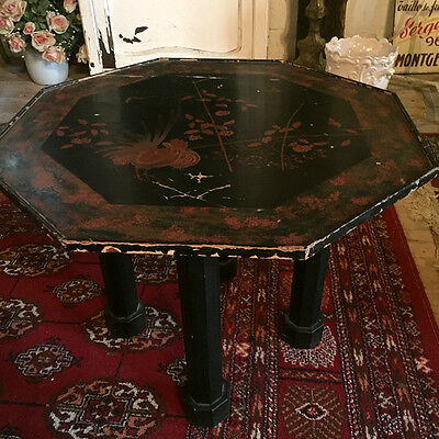Petite table basse esprit chinois