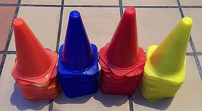 40 x 6 inches Blue Sports Training Safety Cones/Markers - Sport Training Tool