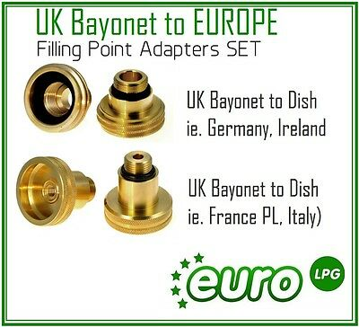 lpggpl AUTOGAS EUROPEAN FILL POINT ADAPTER KIT works with GAS IT GASLOW system