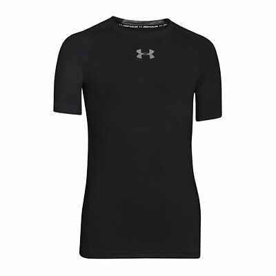 Under Armour Heatgear Fitted Shortsleeve Kids F001