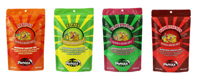 Pangea Complete Gecko Diet 4 Flavours Inc With Insects - Crested Gecko Food